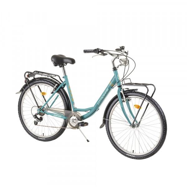 """Ποδήλατο City DHS 26"""" 2020DHS2634, Turquoise"""