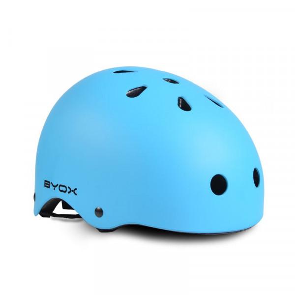 Byox Ρυθμιζόμενο Κράνος για Skate Y09 Blue