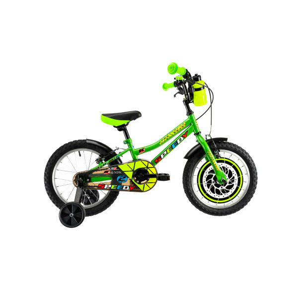 """Ποδήλατο παιδικό DHS 14"""" 2020DHS1403 πράσινο"""