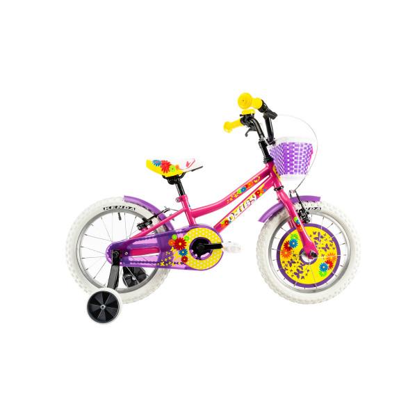 """Ποδήλατο παιδικό DHS 14"""" 2020DHS1404 ΡΟΖ"""