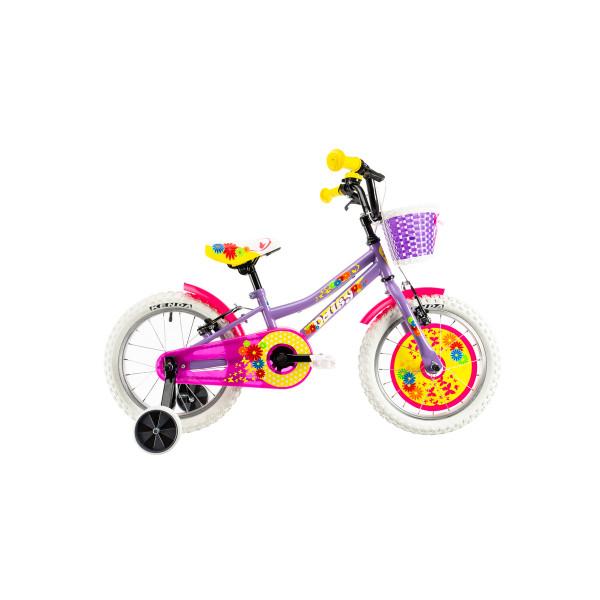 """Ποδήλατο παιδικό DHS 14"""" 2020DHS1404 Violet"""