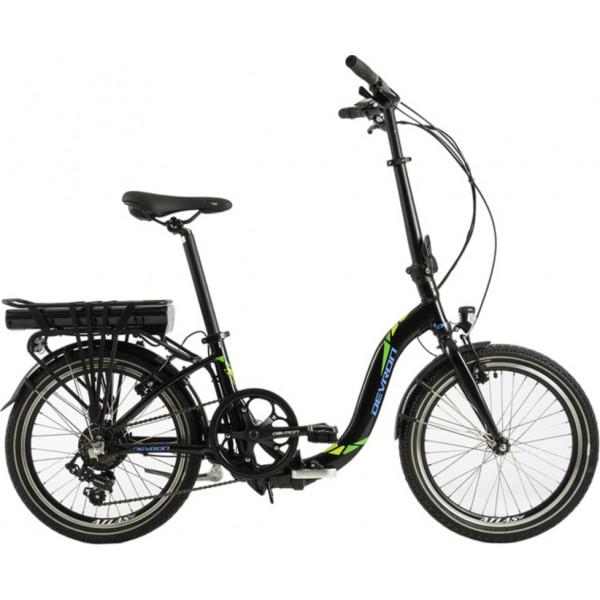 """Ποδήλατο Ηλεκτρικό DEVRON EUROPE Folding 20""""  DEVRON20122VT7Black"""