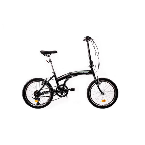 """Ποδήλατο 20"""" Folding, αλουμινίου,  DHS 2095, Μαύρο"""