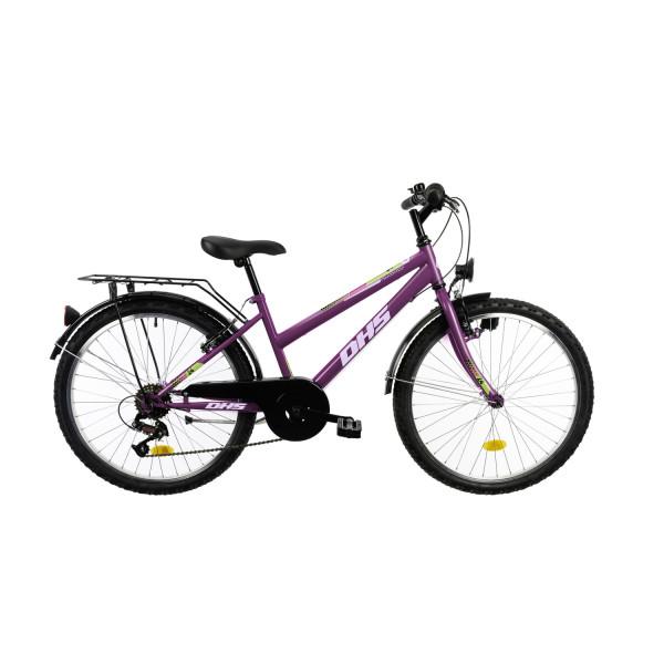 """Ποδήλατο City  DHS 24""""  2020DHS2414, Violet"""