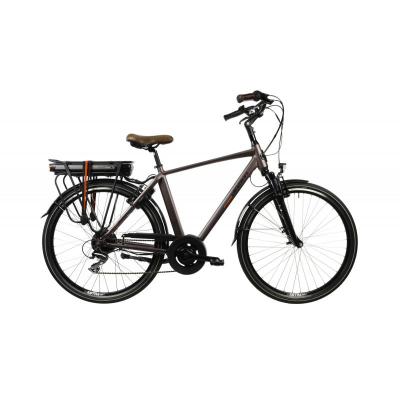 """Ποδήλατο Ηλεκτρικό DEVRON EUROPE 28"""" 2020 DEVRON E-Bike 28221VA Brown."""