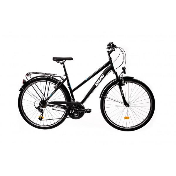 """Ποδήλατο Trekking 28"""" DHS 2854 , Μαύρο/Μπλέ"""