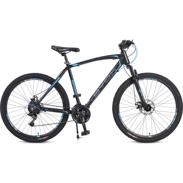 """Ποδήλατο MTB Byox 27,5"""" B2020, alu, disc, Μαύρο/Μπλέ"""