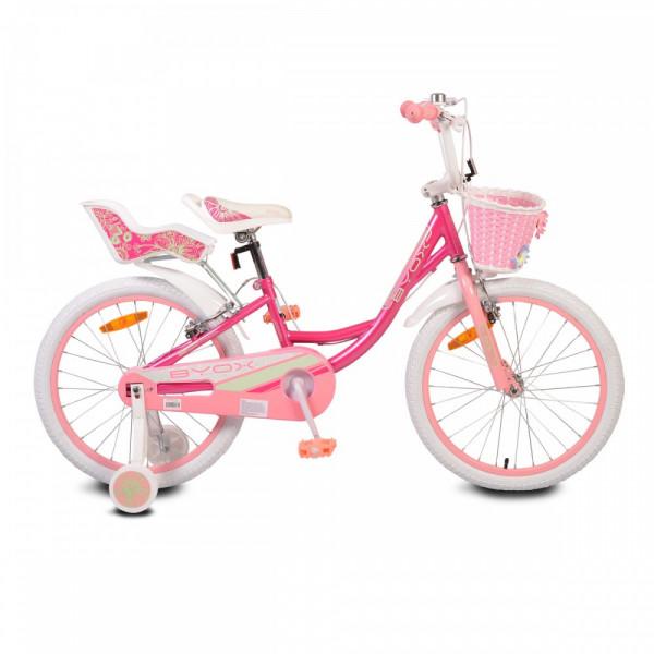 """Ποδήλατο Παιδικό Byox 20"""" Byox 20""""  Fashion Girl Pink"""